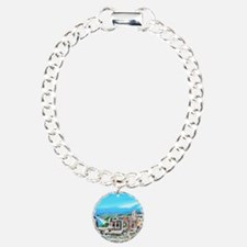 The Greek Theater  Ruins Charm Bracelet, One Charm