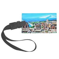 The Greek Theater  Ruins Luggage Tag