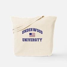 Underwood University Tote Bag