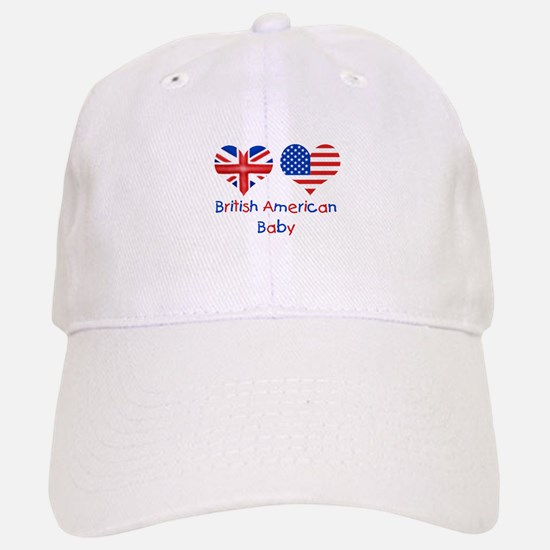British American Baby Baseball Baseball Cap