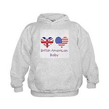 British American Baby Hoodie
