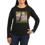 Garden & Boxer Women's Long Sleeve Dark T-Shirt