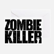 Zombie Killer Greeting Card