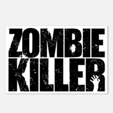 Zombie Killer Postcards (Package of 8)