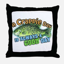 Having a Crappie Day? Throw Pillow