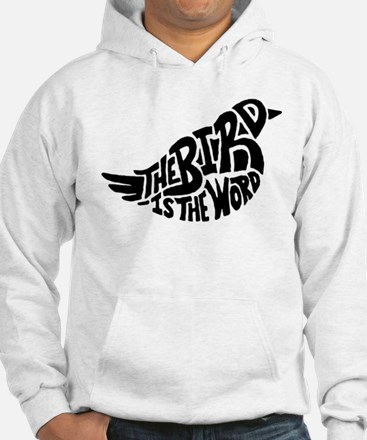 The Bird is the Word Hoodie