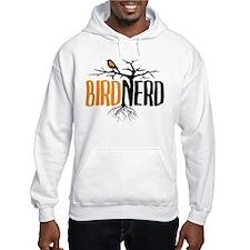 Bird Nerd (Black and Orange) Hoodie