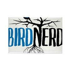 Bird Nerd Rectangle Magnet