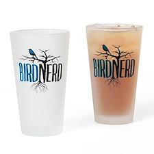 Bird Nerd Drinking Glass