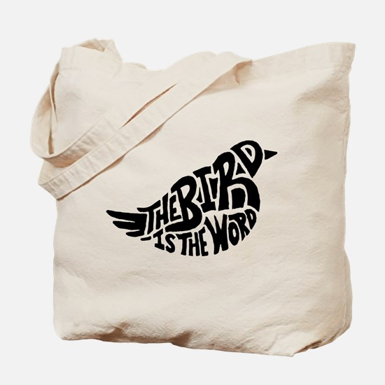 The Bird is the Word Tote Bag