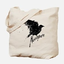 Nevermore Raven Tote Bag