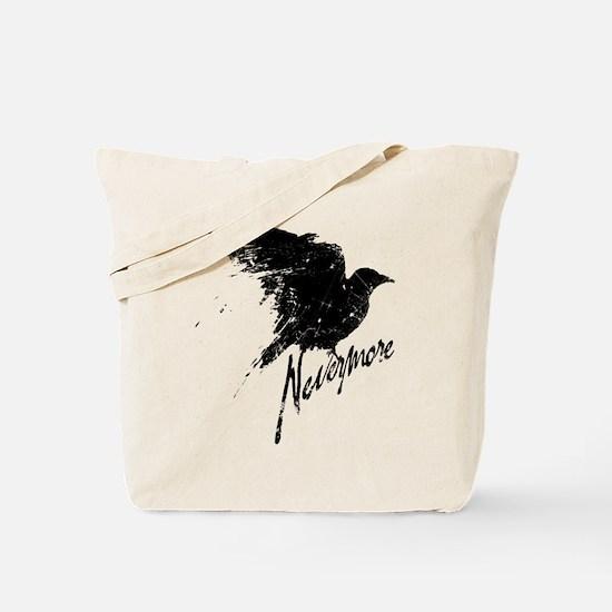Nevermore Raven Tote Bag
