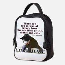 cats-and-music.png Neoprene Lunch Bag
