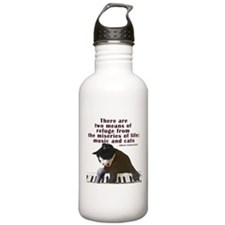 cats-and-music.png Water Bottle