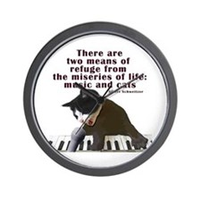 cats-and-music.png Wall Clock