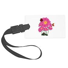 Ladybugs Daisy Garden Luggage Tag