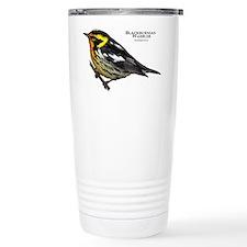 Blackburnian Warbler Travel Mug