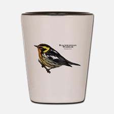 Blackburnian Warbler Shot Glass