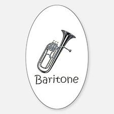 Baritone Oval Decal