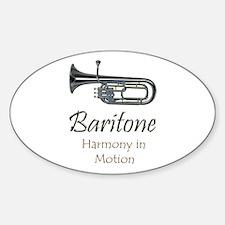 Baritone Harmony (H) Oval Decal