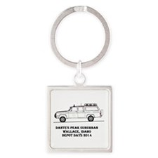 Depot Days 2014 Square Keychain