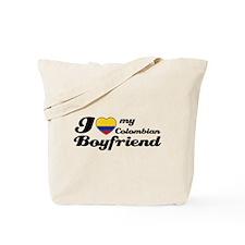 I love my Colombian Boy Friend Tote Bag