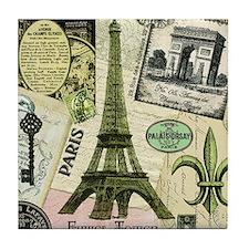 EVERYTHING PARIS Tile Coaster