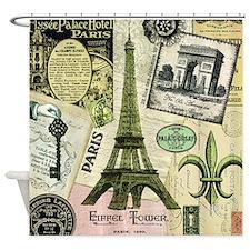 EVERYTHING PARIS Shower Curtain