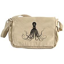 Vintage Octopus Messenger Bag