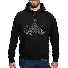 Vintage Octopus Hoodie