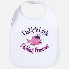 Daddy's Fishing Princess Bib