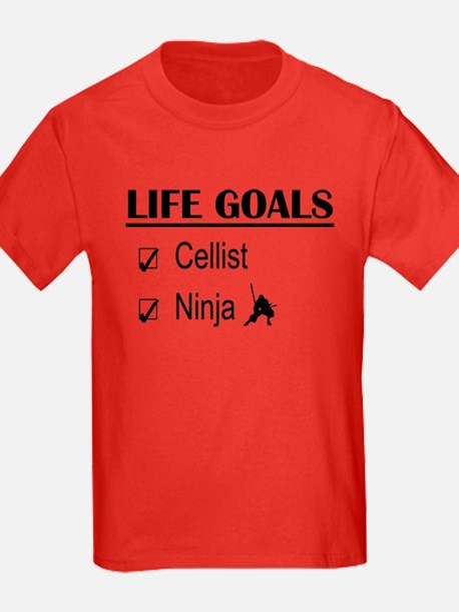 Cellist Ninja Life Goals T