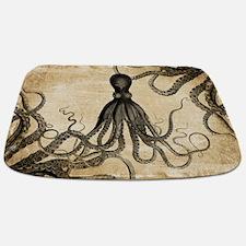 Vintage Octopus Bathmat