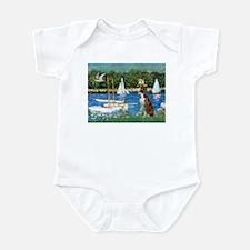 Sailboats & Boxer Infant Bodysuit