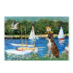 Sailboats & Boxer Postcards (Package of 8)