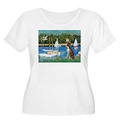 Sailboats & Boxer T-Shirt