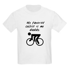 My Favorite Cyclist Is My Daddy T-Shirt