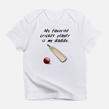 My Favorite Cricket Player Is My Daddy Infant T-Sh