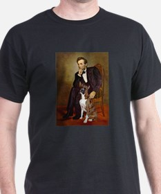 Lincoln & his Boxer T-Shirt