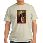Lincoln & his Boxer Light T-Shirt