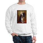 Lincoln & his Boxer Sweatshirt