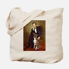 Lincoln & his Boxer Tote Bag