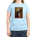 Lincoln & his Boxer Women's Light T-Shirt