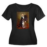 Lincoln & his Boxer Women's Plus Size Scoop Neck D