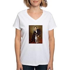 Lincoln & his Boxer Shirt