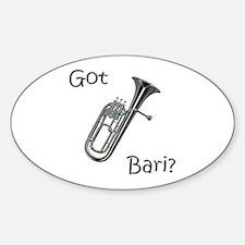 Got Bari? Oval Decal