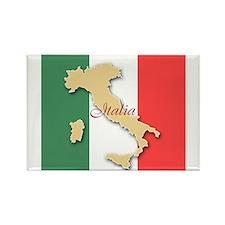 Italia (Italy Map) Magnets