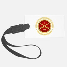 2nd Battalion Mississippi Cavalry Luggage Tag