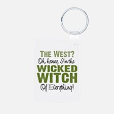 Wicked Witch Of Everything Keychains