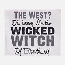 Wicked Witch of Everything G Throw Blanket
